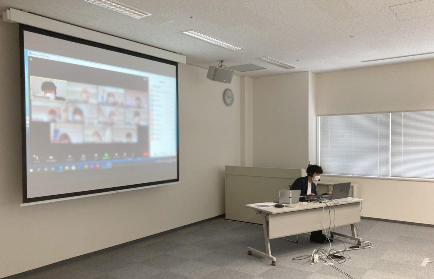 「簡単に始められるZoomセミナー」 講師業務